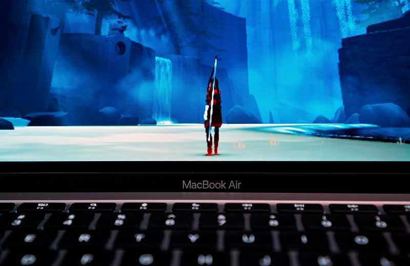 Apple MacBook Air M1 дисплей