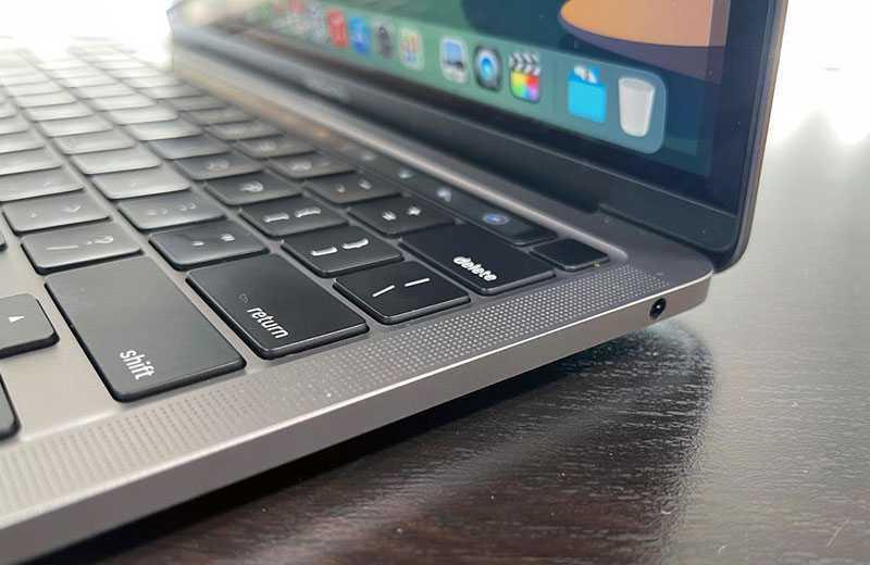 Apple MacBook Pro 13 M1 (2020) звук