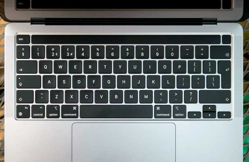 Apple MacBook Pro 13 M1 (2020) клавиатура