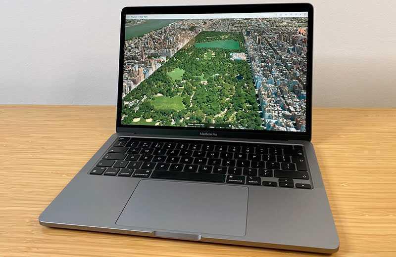 Apple MacBook Pro 13 M1 (2020) трэкпад