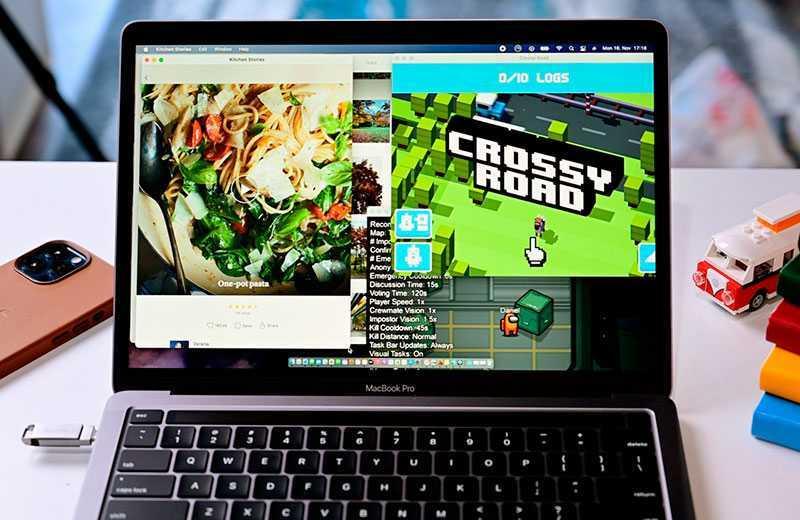 Apple MacBook Pro 13 M1 (2020) графика