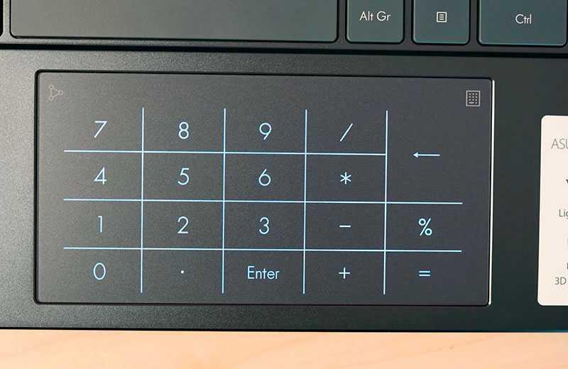 ZenBook 14 UX425JA тачпад