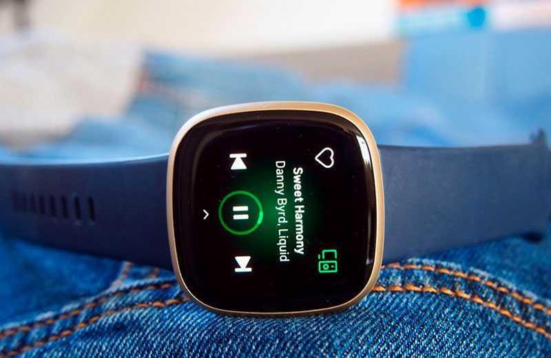 Fitbit Versa 3 звук