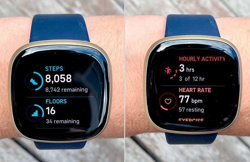 Fitbit Versa 3 спортивные функции