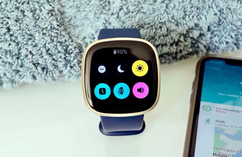Fitbit Versa 3 контроль сна