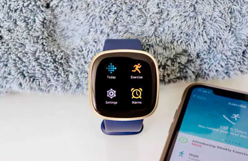Fitbit Versa 3 умные функции