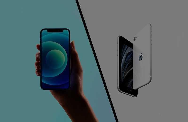 Apple iPhone 12 mini vs iPhone SE (2020) — Сравнение от TehnObzor