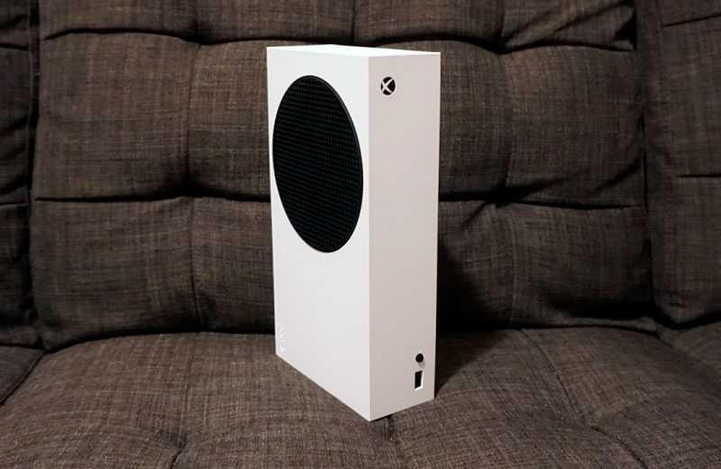 Microsoft Xbox Series S обзор