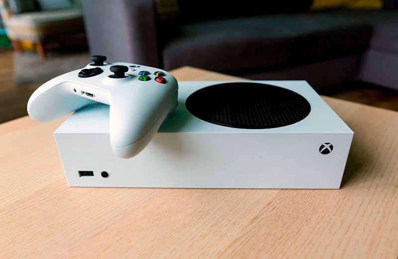 Консоль Microsoft Xbox Series S