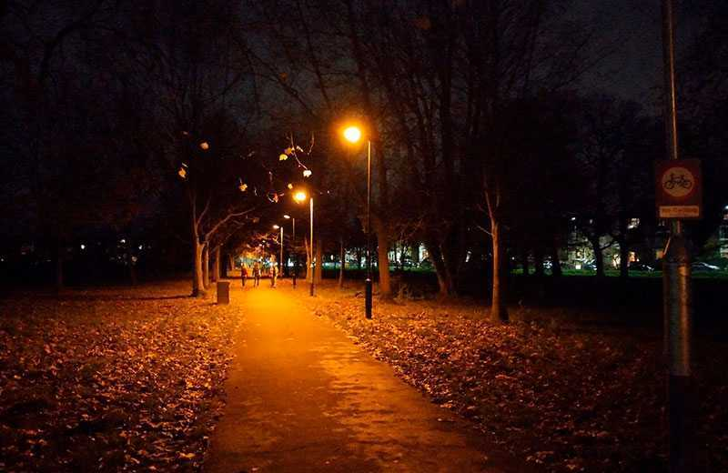 Nokia 3.4 ночная съёмка