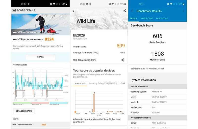Тесты OnePlus Nord N10 5G