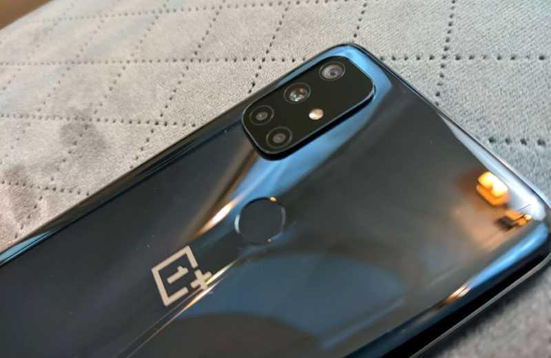 OnePlus Nord N10 5G сканер отпечатков