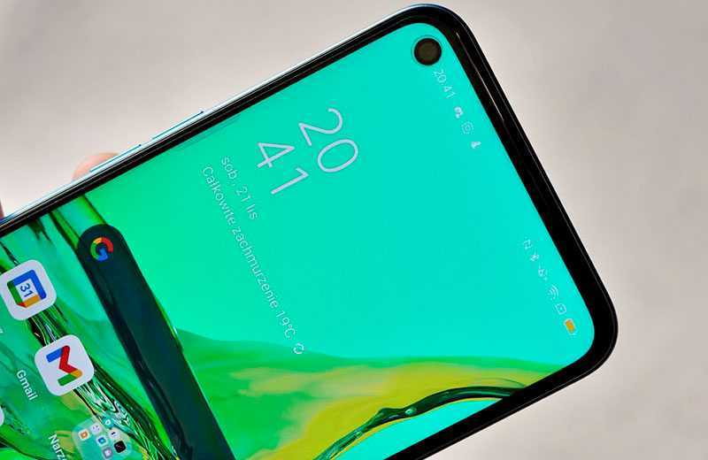 Oppo A53 дисплей