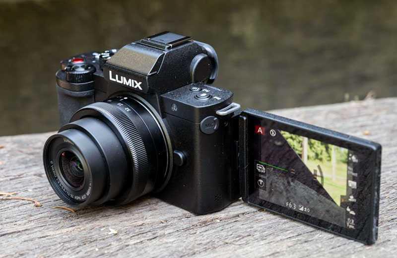 Panasonic Lumix G100 видео