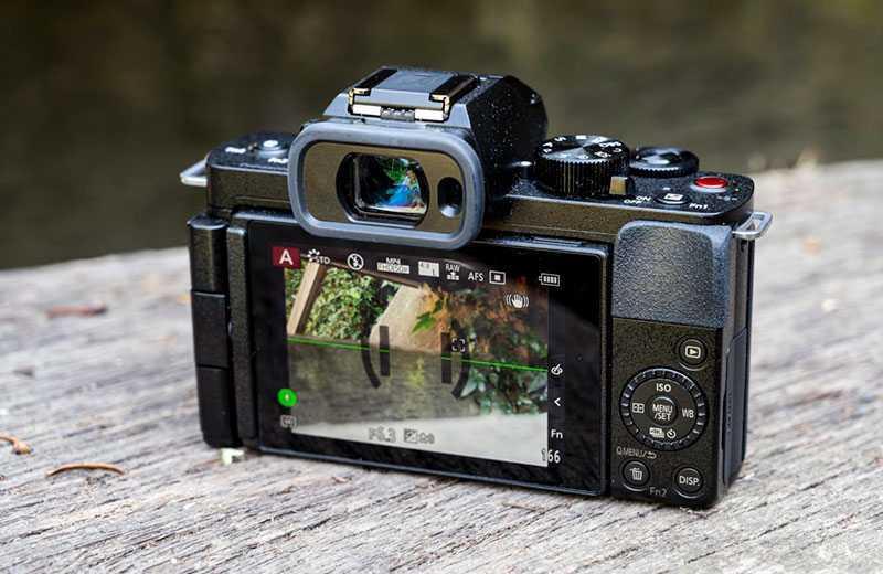 Panasonic Lumix G100 съёмка видео