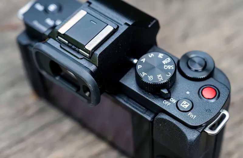 Panasonic Lumix G100 управление