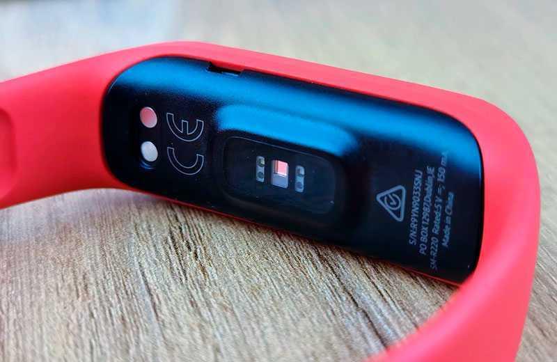 Samsung Galaxy Fit 2 датчики