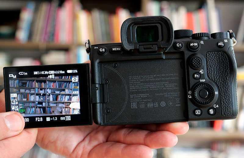 Sony A7S III поворотный экран
