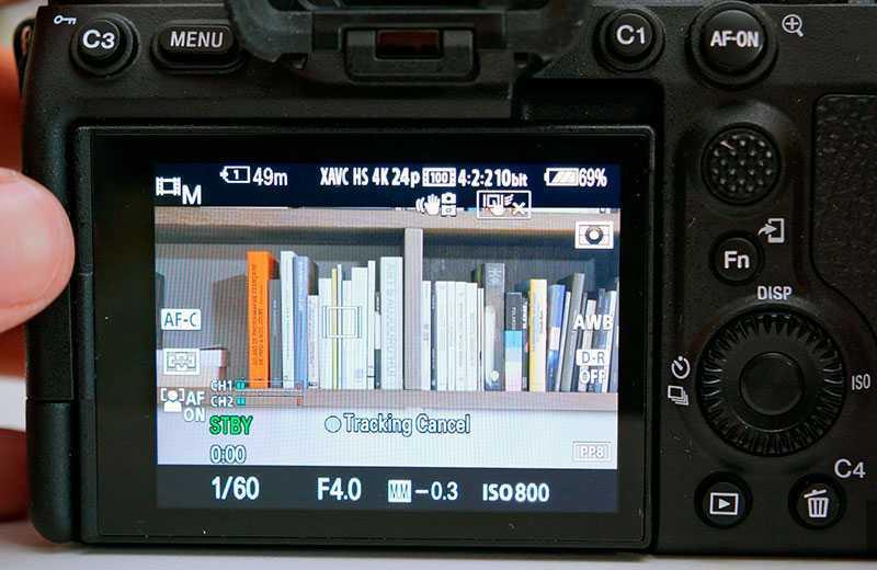 Sony A7S III видеосъёмка