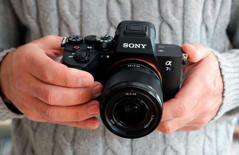 Sony A7S III фотокамера