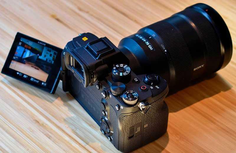 Sony A7S III управление