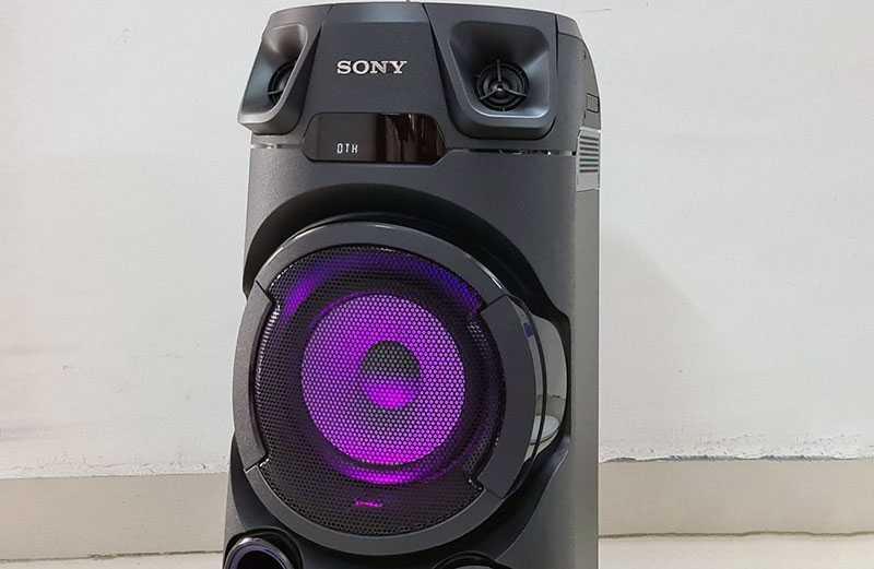Sony MHC-V13 подключение