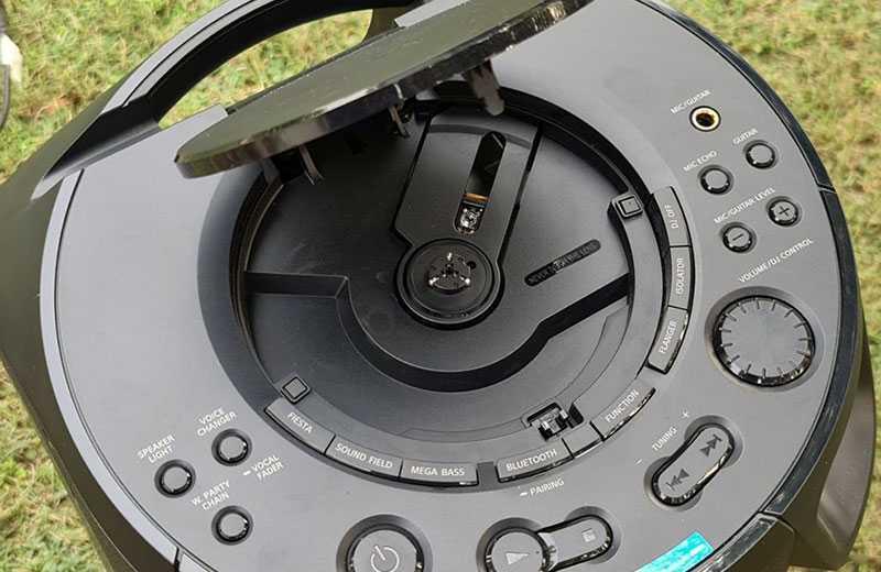 Sony MHC-V13 панель управления