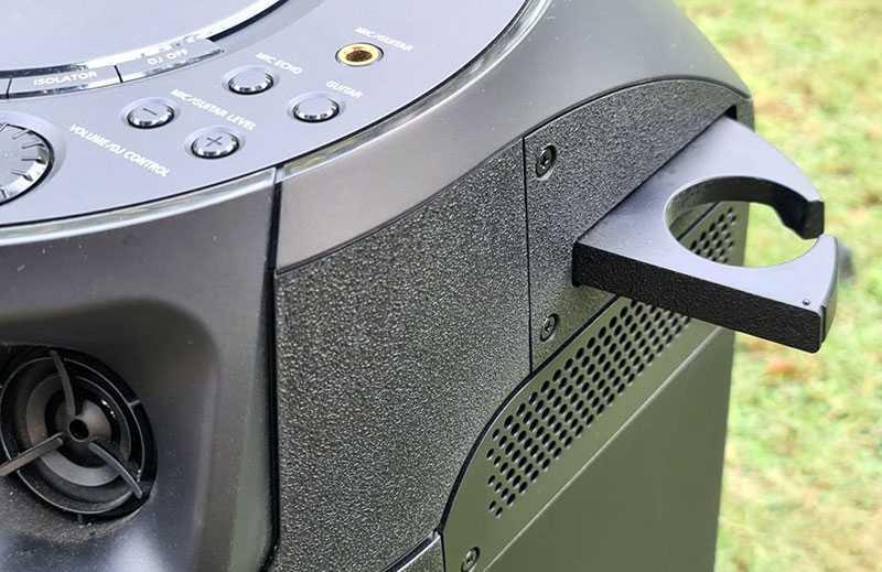 Sony MHC-V13 крепление под микрофон