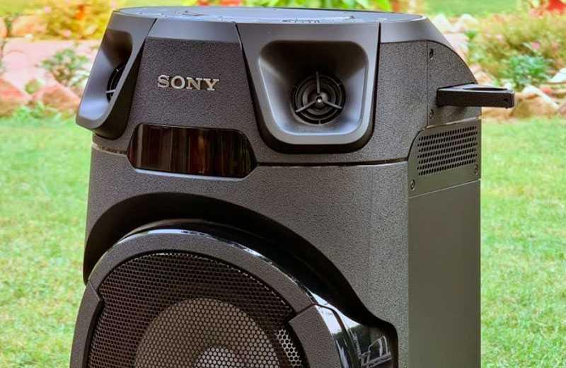 Sony MHC-V13 особенности