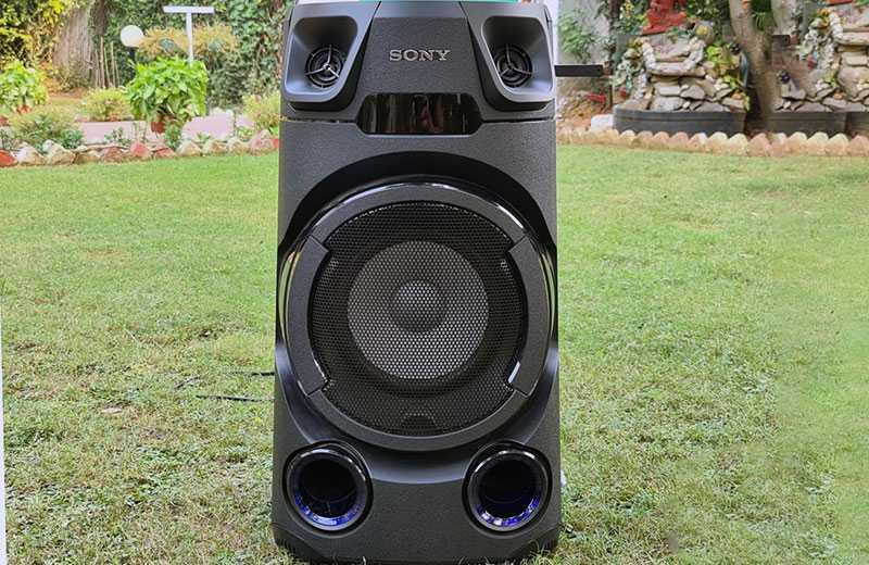 Sony MHC-V13 звук