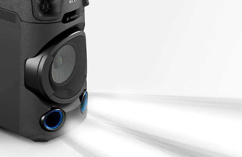 Sony MHC-V13 качество звука