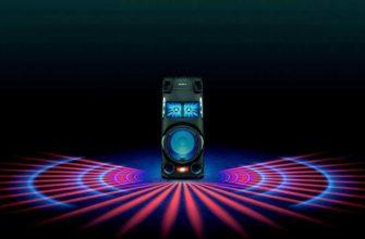 Обзор Sony MHC-V13 очень мощной колонки — Отзывы TehnObzor