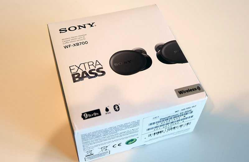 Sony WF-XB700 отзывы