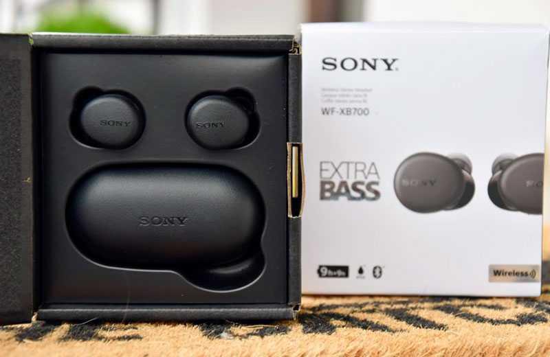 Характеристики Sony WF-XB700