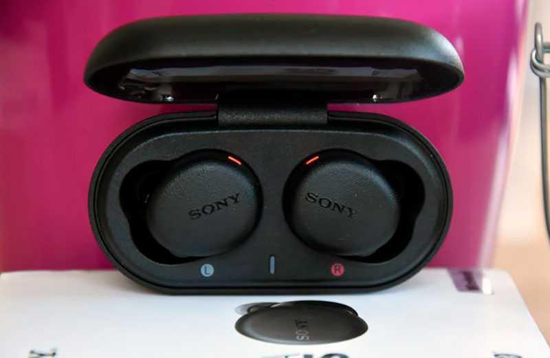 Sony WF-XB700 дизайн