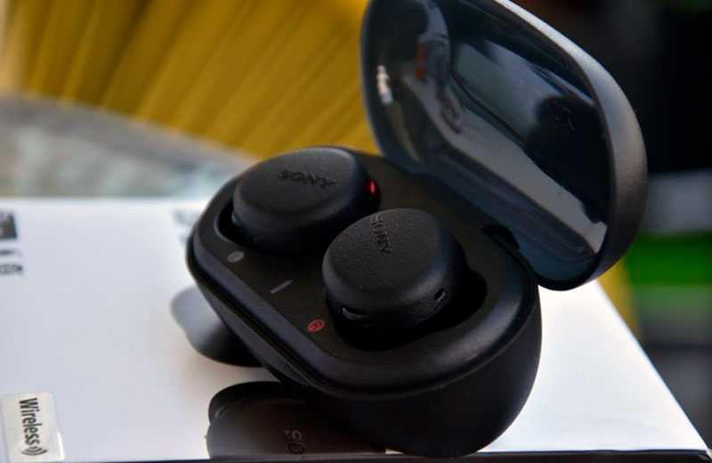 Sony WF-XB700 связь