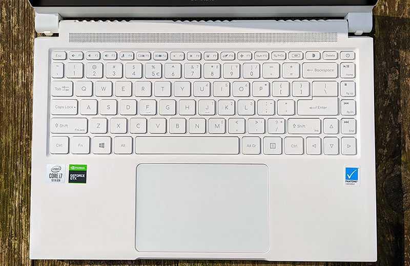 Acer ConceptD 3 Ezel клавиатура