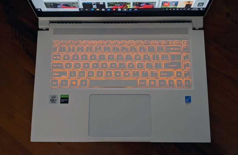 Acer ConceptD 3 Ezel подсветка клавиш