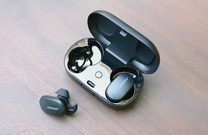 Тест Bose QuietComfort Earbuds