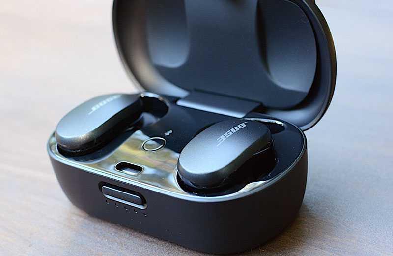 Bose QuietComfort Earbuds шумопадовление