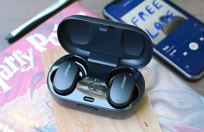 Bose QuietComfort Earbuds звук