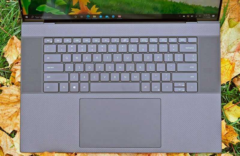Dell XPS 17 (9700) клавиатура и тачпад