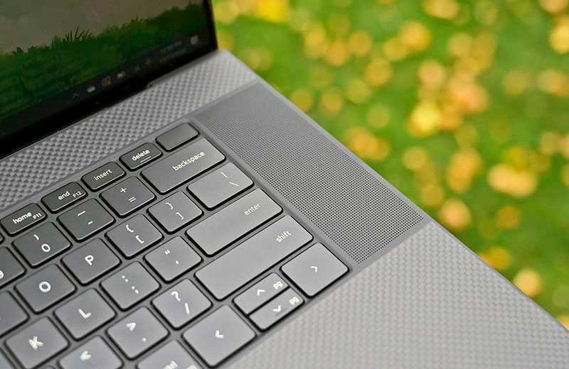 Dell XPS 17 (2020) звук