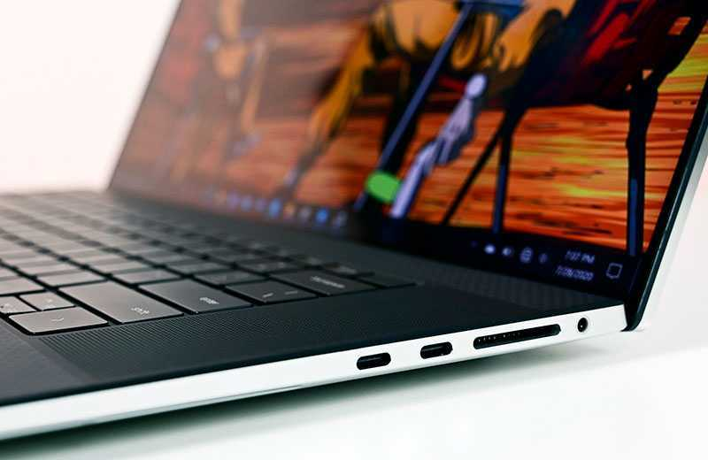 Dell XPS 17 (9700) разъёмы