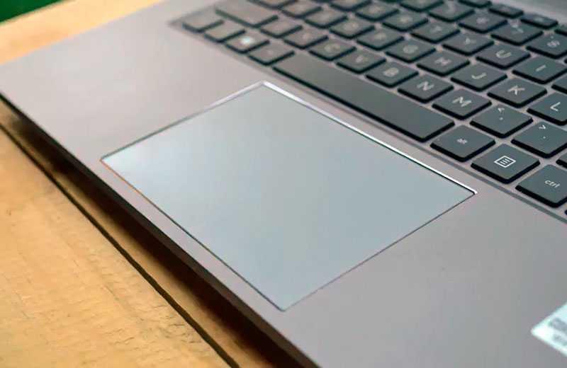 HP ZBook Create G7 трэкпад