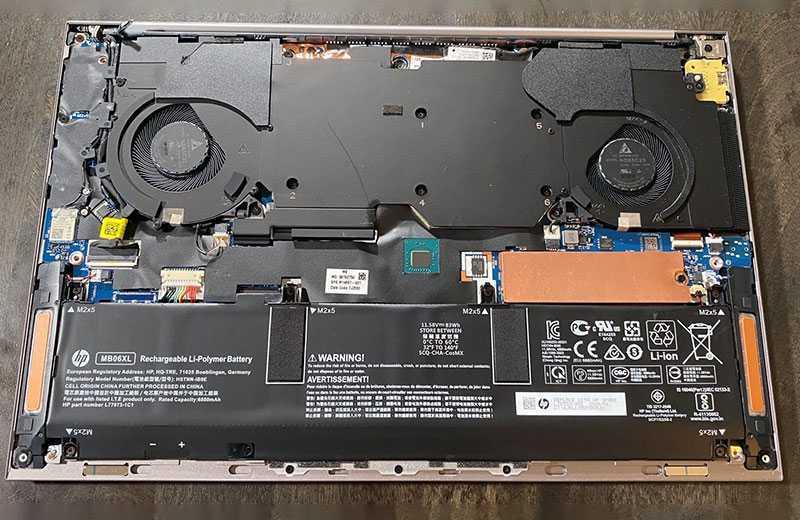 HP ZBook Create G7 шум