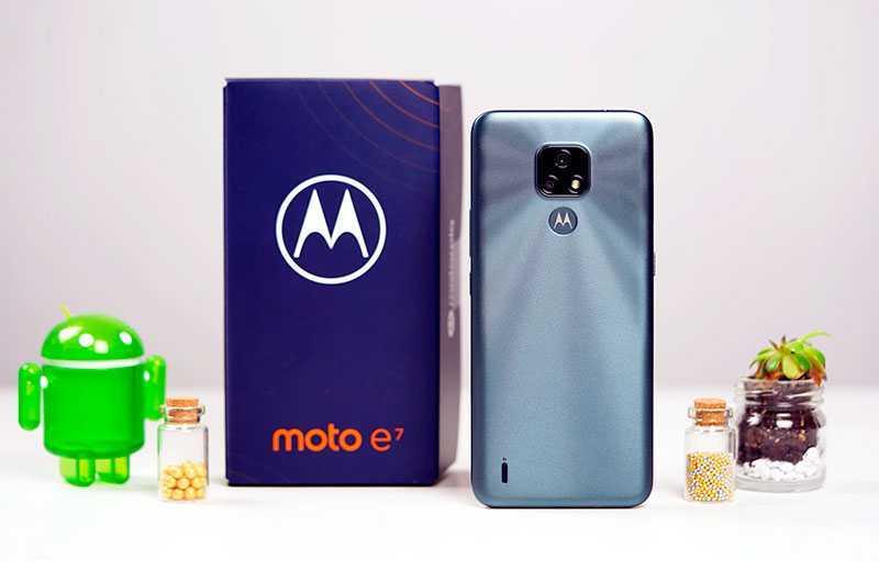 Обзор Motorola Moto E7