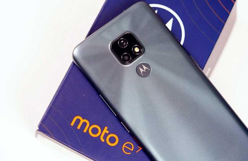 Motorola Moto E7 отзывы