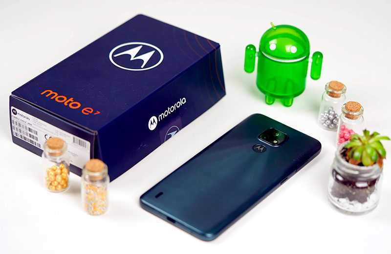 Характеристики Motorola Moto E7