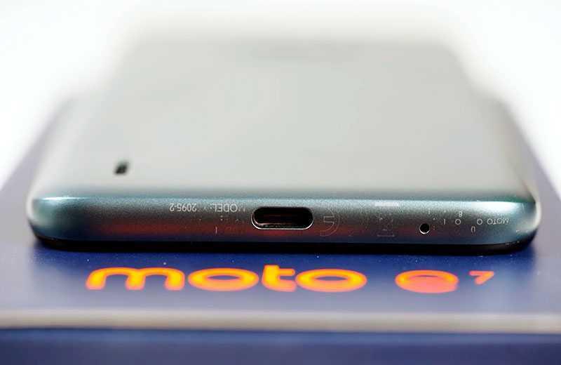 Motorola Moto E7 автономность